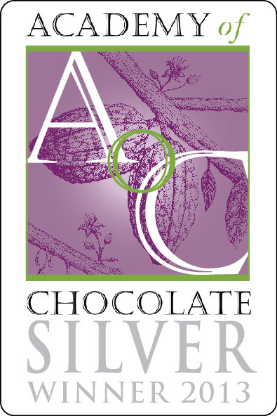 Silver Best Chocolate Caramel 2013 from the Academy of Chocolate