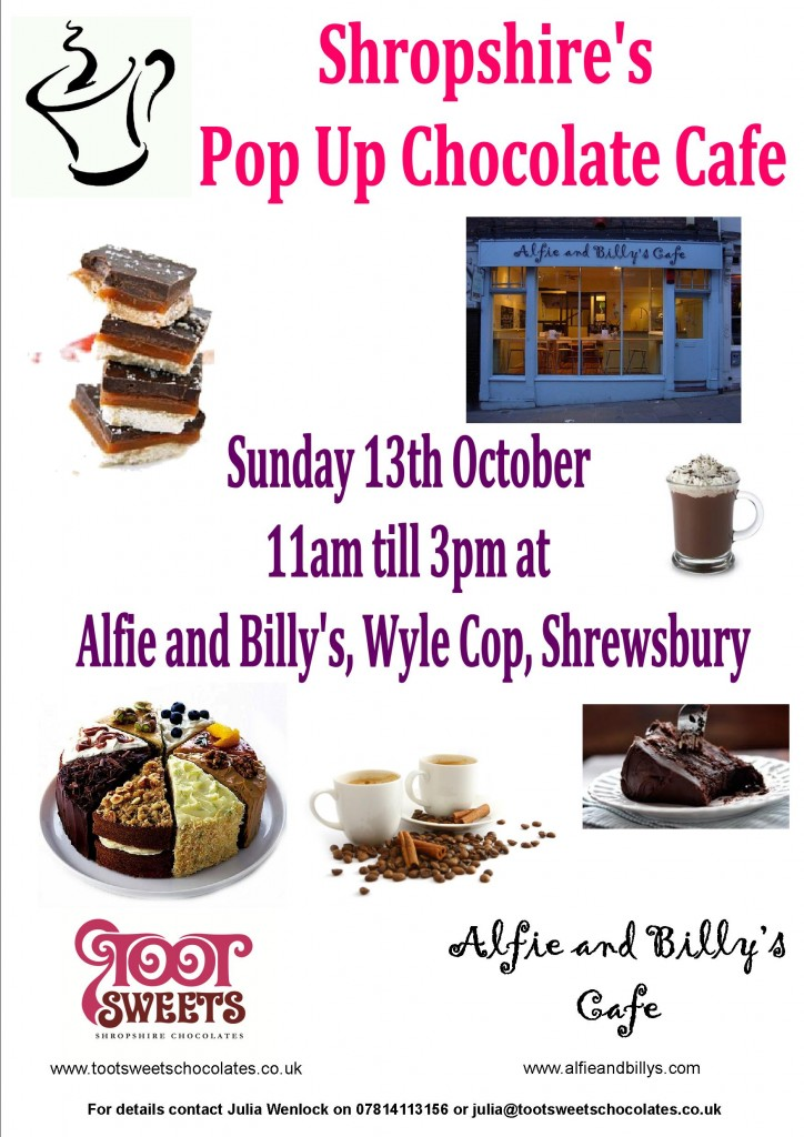 alfie and billy's pop up