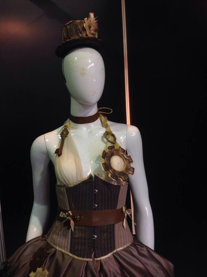 Corset and Chocolate top hat